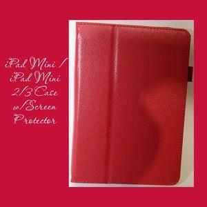 iPad Mini/Mini 2/3 Case w/Screen Protector & Pen